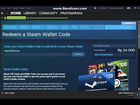 Video Tutorial isi Steam Wallet Bahasa Indonesia