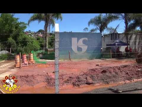 Obras do Consórcio Construtor São Lourenço em Juquitiba