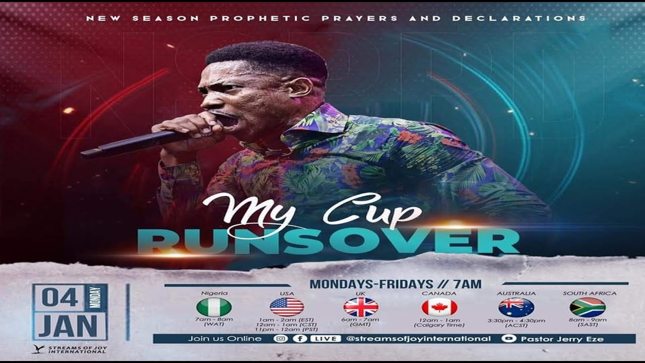 New Season Prophetic Prayers and Declaration [NSPPD] 5th JANUARY 2021