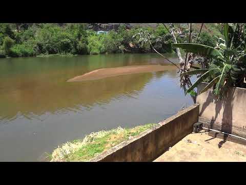 Muito peixe no rio - Cidade de Antonio Dias MG