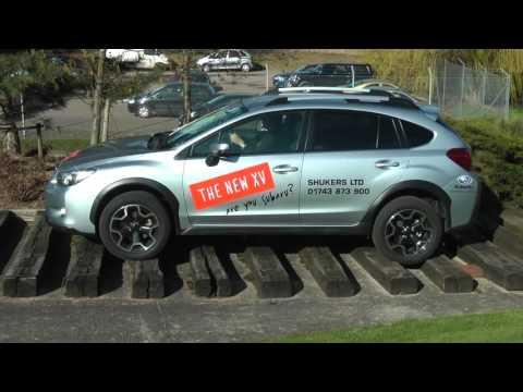 The Subaru XV takes on the Land Rover Defender