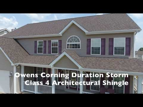 This St Charles MO roof is not your typical roof. No this the Owens Corning Duration Storm Class 4 Shingle...