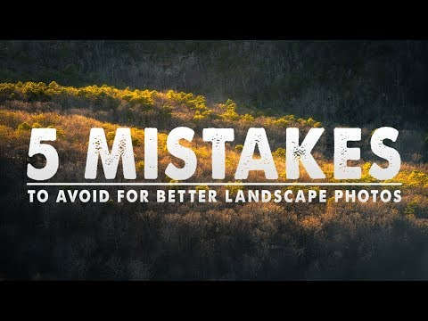 5 beginner landscape photography mistakes to avoid by mark denney