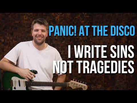 Panic At The Disco I Write Sins Not Tragedies Wiki Ultimate