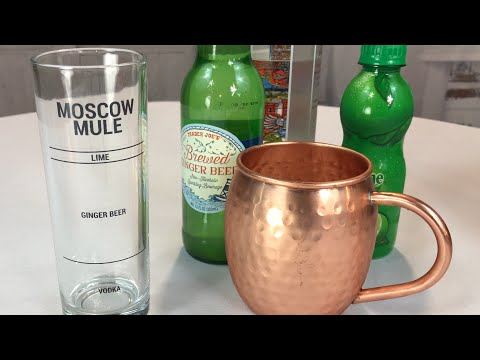 Video Moscow Mule Recipe Glass by Drinking Modern review