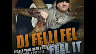 feel it - DJ felli fel (ft. t-pain, sean paul, flo rida & pitbull)