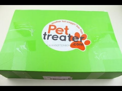 Pet Treater Box June 2018 Unboxing + Coupons #PetTreater