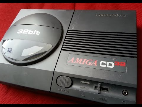 Classic Game Room - AMIGA CD32 console review