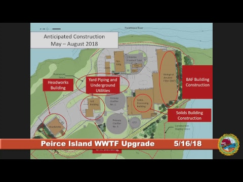 Peirce Island Waste Water Treatment Facility Upgrade 5.16.2018