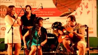 preview picture of video 'Fiesta benéfica en Prado del Rey: Cante flamenco Ana Suárez con J. Antonio Maza a la guitarra 4/5'