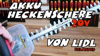 Unboxing & Review LIDL - PARKSIDE® Akku-Heckenschere PHSA 20-Li