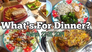 What's For Dinner | Real Life Meal Ideas