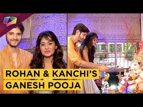 Rohan Mehra And Kanchi Singh's Ganpati Celebrati