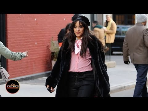 Camila Cabello Dances Through the Streets of NYC While Filming Commercial