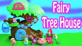 MLP Fairy Tree House Home Playset Fashems My Little Pony Pinkie Pie Twilight Playing Fun Review