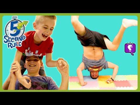 5 Second Rules! HobbyKidsTV Family Game Time