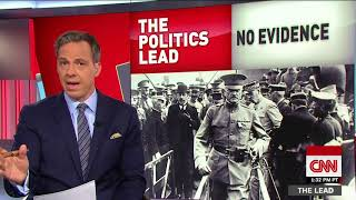 Tapper: President Trump told the world to study a lie