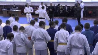 Open lesson of judo of Ezio Gamba, Mikhail Pulyaev and Ivan Nifontov.