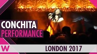 "Conchita Wurst ""Rise Like a Phoenix"" (Austria Eurovision 2014) LIVE @ London Eurovision Party 2017"