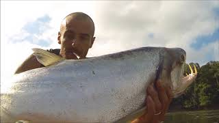 Guyana October 2015, Fishing On The Essequibo River
