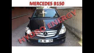 Mercedes B 150 hidrojen yakıt sistem montajı