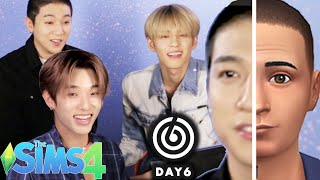 "K-pop Stars 'DAY6' Make Each Other In ""The SIMS 4"""