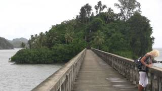 preview picture of video 'Santa Bárbara de Samaná - puente - Brücke'