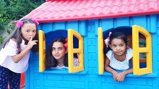 Öykü and Cousins played Peek a boo funkidsvideo