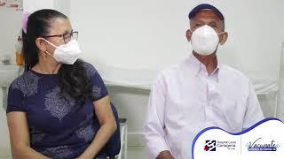 Meris junto con su padre nos cuentan su experiencia con la vacunación