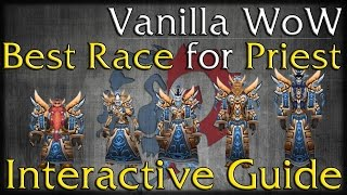 Best Race for Priests - Vanilla WoW