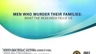 Men Who Murder Their Families: What the Research Tells Us
