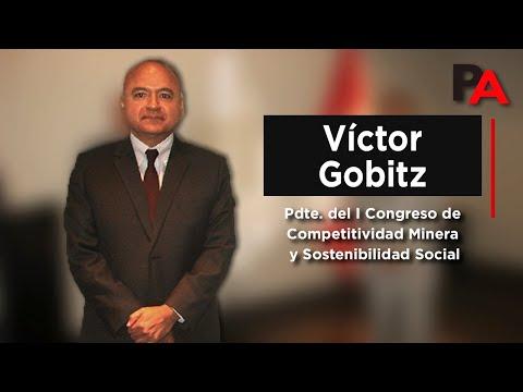 Víctor Gobitz - Lanzamiento I Congreso de Competitividad Minera - IIMP