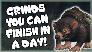 Grinds That Give a Guaranteed Mount You Can Finish in One Day and How to Get Them