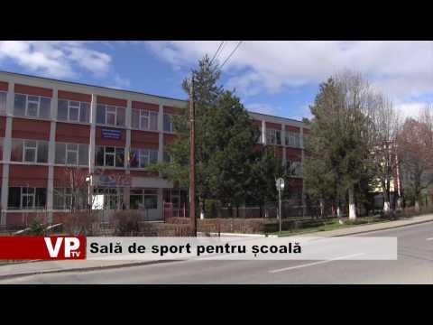 Sală de sport pentru școală