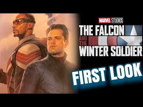 FIRST LOOK Falcon & The Winter Soldier Poster