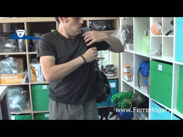 Видео Сумка на пояс Deuter Travel Belt black