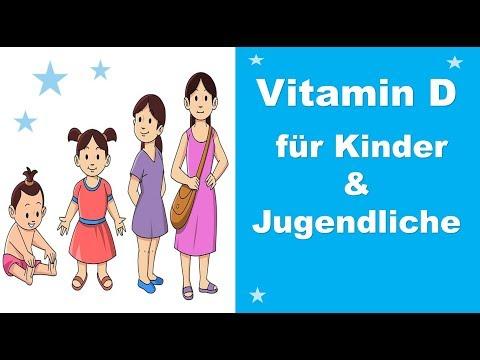 Brauchen Kinder Vitamin D ?