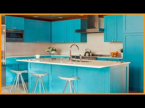 Кухни в ГОЛУБОМ ЦВЕТЕ | Интерьер кухни в Голубых тонах | ГОЛУБАЯ КУХНЯ Интересные Идеи Дизайна