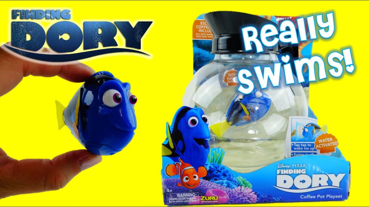 Finding Dory Coffee Pot Playset Unbox and Review | Evies Toy House