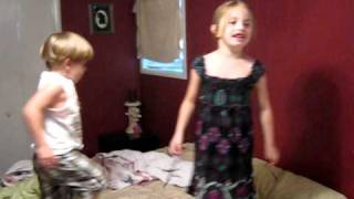 Kids singing and dancing to River of Love by George Strait