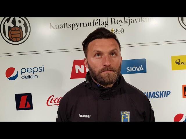 Óli Palli: Stoltur af Fjölnisliðinu í kvöld