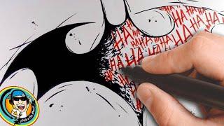 Desenhando Tattoo Batman #arteeciabrasil #batman #tattoo #aovivo