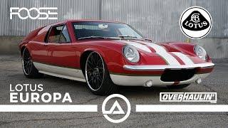 Foose/Overhaulin 1971 Lotus Europa | 320 Hp And Only 1200 Lbs!!