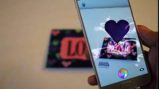 LOVE Augmented Reality Greeting Card - HoloInvites
