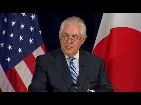 Tillerson: 'Provocations' by North Korea 'must stop immediately'