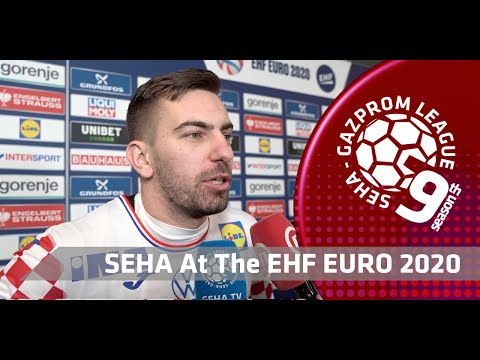 EHF EURO 2020: Matej Hrstic after the semi-final match NOR vs CRO