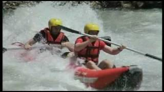 preview picture of video 'Crazy Rafting 2009 by Niolex'