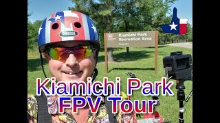 He Official FPV Tour of Kiamichi Park Hugo Lake