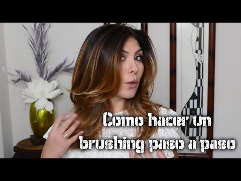 Tutorial cabello: Como hacer un brushing paso a paso