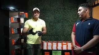 Neto Bran comprando mas tabletas para los niños de Mixco